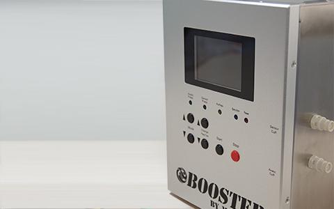 加圧トレーニングマシン(BOOSTER)施術