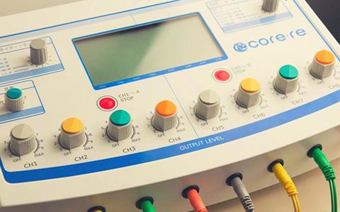 core-re(広域変周波EMS)施術1