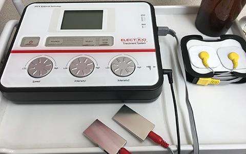 ELECTRO(筋膜リリースマシン)施術